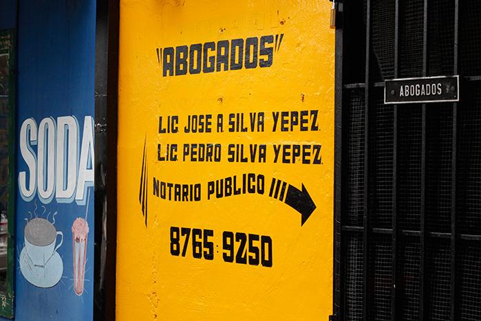 Rincones tipográficos de Costa Rica: nace una nueva categoría