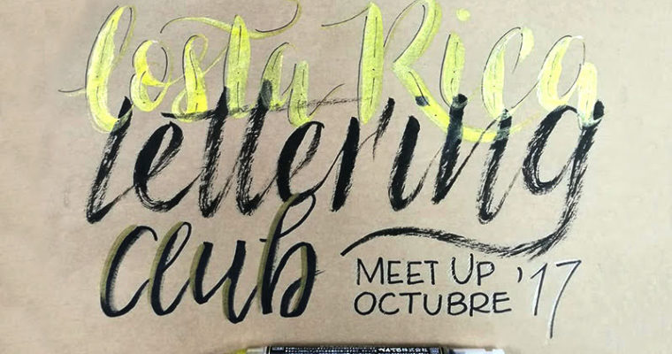 Costa Rica Lettering Club – Meet Up 2
