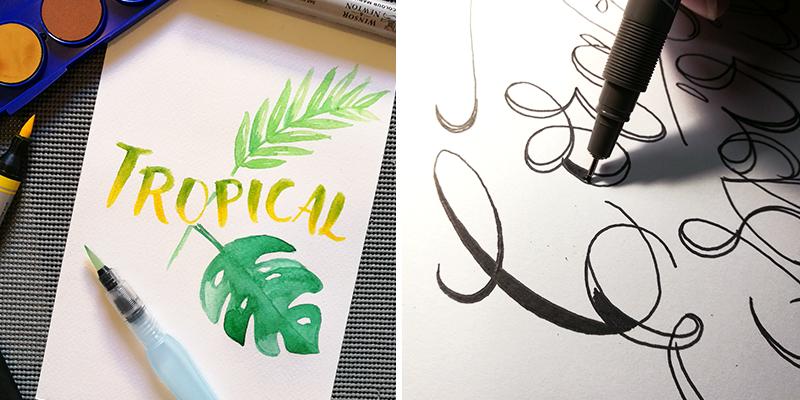 primer taller lettering caligrafia costa rica