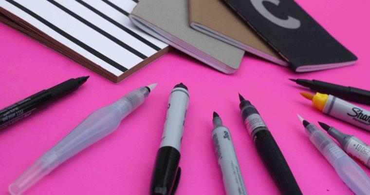 Herramientas para caligrafía con pincel – parte 2