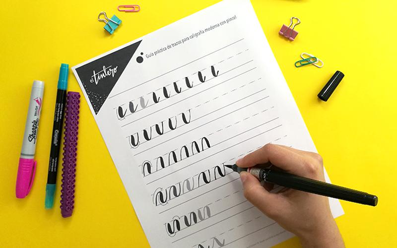 Guía Práctica de Brush Pen para Imprimir