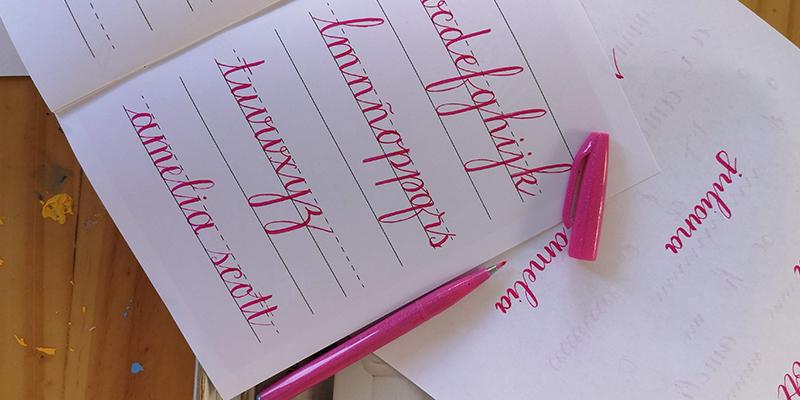 Aprender lettering: preguntas frecuentes de principiantes