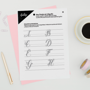 guia de practica caligrafia
